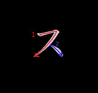 """Katakana """"Su"""""""