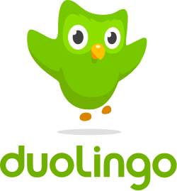 duolingo logo and owl