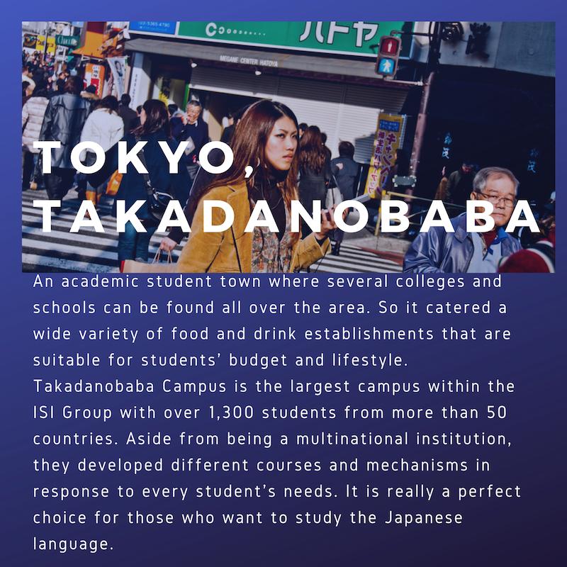 ISI-Tokyo, Takadanobaba
