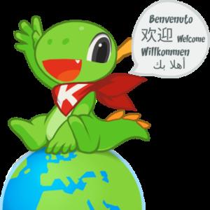 greeting dinosaur