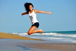 Girl Jumping | FAIR Study